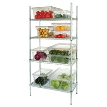 Vogue L929 4 Tier Wire Shelving Kit 1525x 460mm