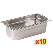 Vogue S410 Gastronorm Container Kit 10 x 1/4