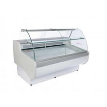 Igloo Tobi 110 Curved Glass Deli Serve Over Counter