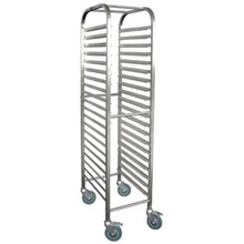 Vogue U376 Gastronorm Racking Trolley