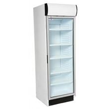 Artikcold VIZ372C Glass Door Display Refrigerator with Canopy