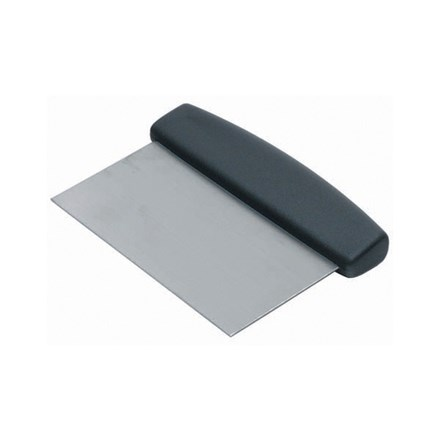 Dough Scraper Black Handle 150 x 75mm