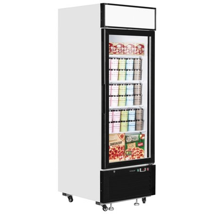 Interlevin LGF2500 Glass Door Display Freezer
