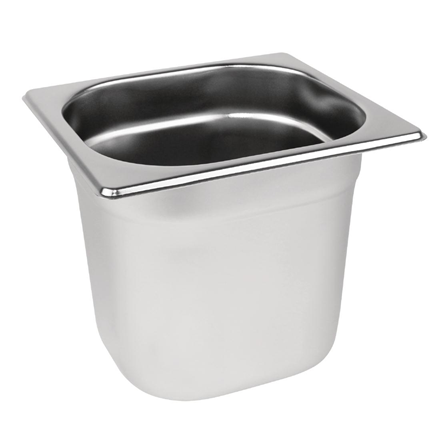 Stainless Steel 1/6 Gastronorm Pan 150mm