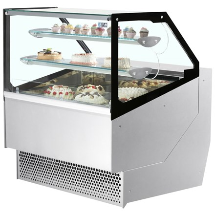 ISA Millennium Pastry Range Serve Over Counter for Patisserie