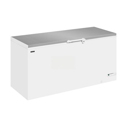 Interlevin LHF SS Range Solid Lid Chest Freezer
