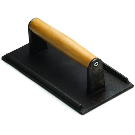 Tablecraft Steak Weight, Cast Iron, Black