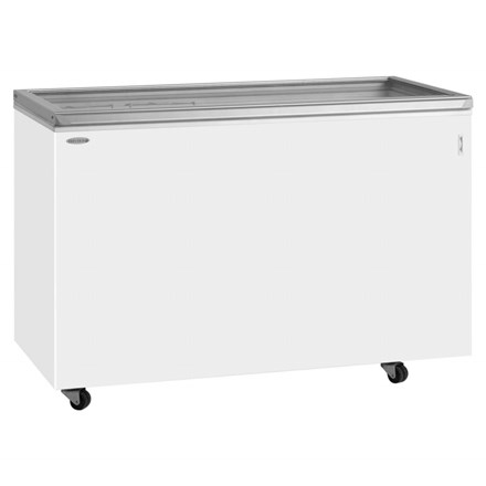Tefcold ST Range Hinged Glass Lid Chest Freezer