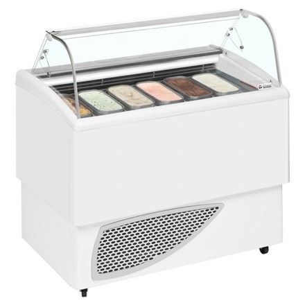 Tecfrigo Carisma Range Ventilated Scoop Ice Cream Display