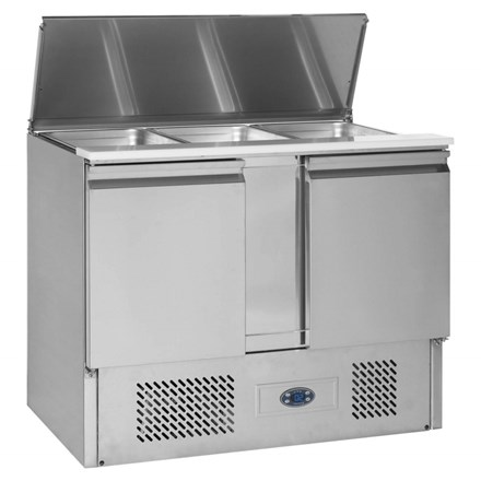 Tefcold Gastro-Line SA Range Gastronorm Saladette Counter