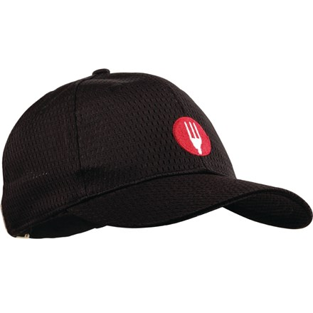 Chef Works A976 Cool Vent Baseball Cap Black