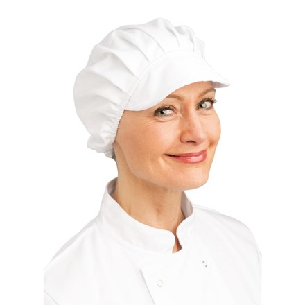 Whites Chefs Apparel B255 Peaked Hat, White
