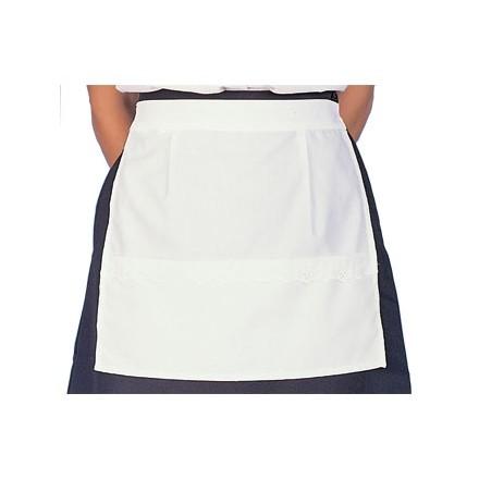White Waitress Apron