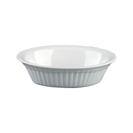 6x Olympia C110 46(H)x170(W)x133(D)mm Oval Pie Dish Crockery