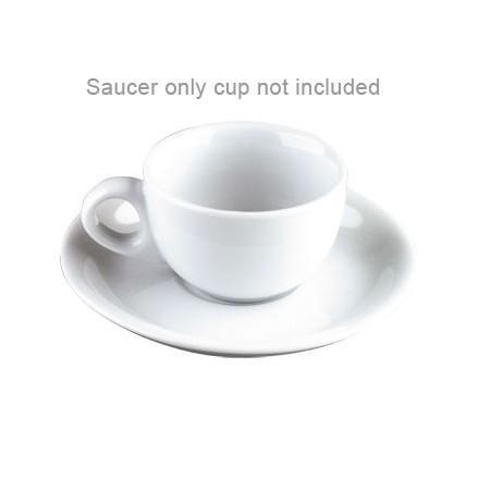 12x Olympia CB465 3oz Saucer Espresso Cups & Saucers