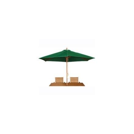 Bolero CB515 Green Round - 3m Pulley Parasol
