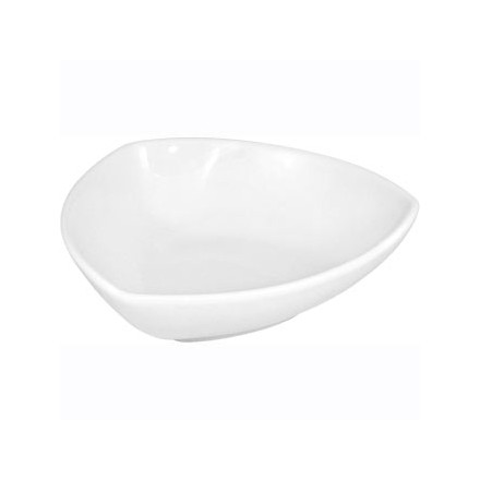6x Olympia CB680 200mm Rounded Triangular Bowls