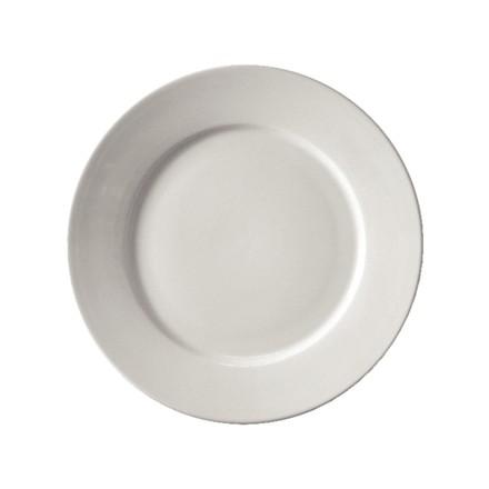 "12x Athena CC208 9"" Wide Rimmed Plates Crockery"