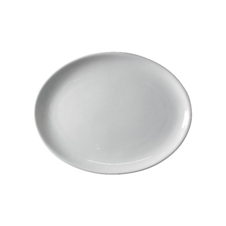 "6x Athena CC212 12"" Oval Coupe Plates Crockery"