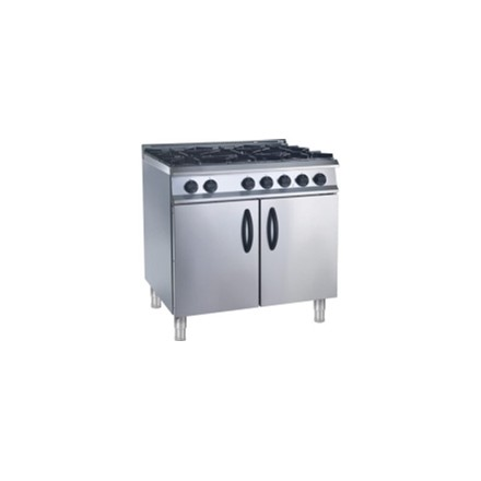 CD480-N Moorwood Vulcan Natural 6 Burner Gas Ranges