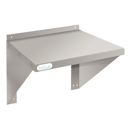 Vogue CD550 Stainless Steel Microwave Shelf