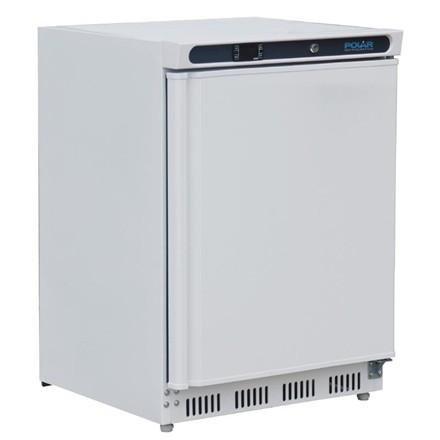 Polar CD611 Undercounter Freezer White 140Ltr