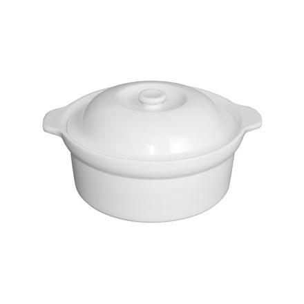 Olympia CD731 90 x 228 x 265mm Handled Round Casserole Pot Crockery