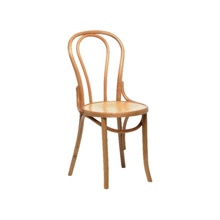 Bolera Bentwood Bistro Sidechair Natural (Box 2)