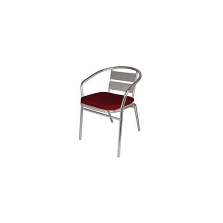 4x Bolera CF155 Red Comfy Seat Pads