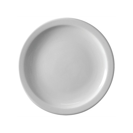 "6x Athena CF365 11""/280mm Narrow Rimmed Plates Crockery"