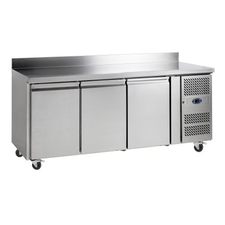 Tefcold CF7310 Stainless Gastronorm Freezer Counter  Refrigeration