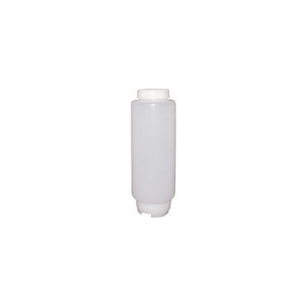 CF949 20oz Bottle with Medium Dispensing Valve FIFO Sauce Dispensers Utensils