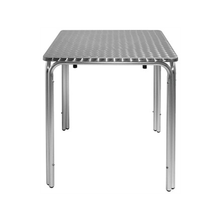 Bolera CG837 600mm Stainless Steel Square table