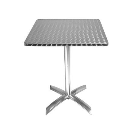 Bolera CG838 Square Stainless Steel Flip Top Table 600mm