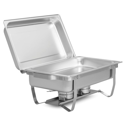 Pack of 4 Chafing Dish with 1/1 Gastronorm Pans