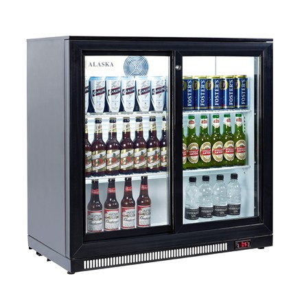 Artikcold Alaska BBC-92H Double Back Bar Cooler