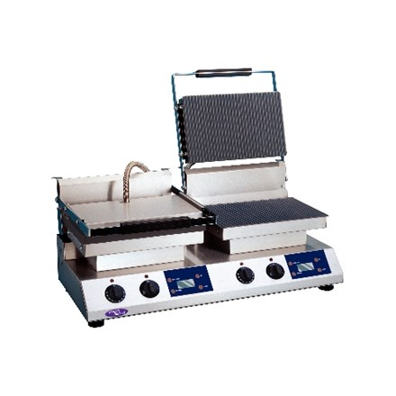 Rowlett & Rutland DL275 Digital Express Double Contact Grill. Ribbed upper & low