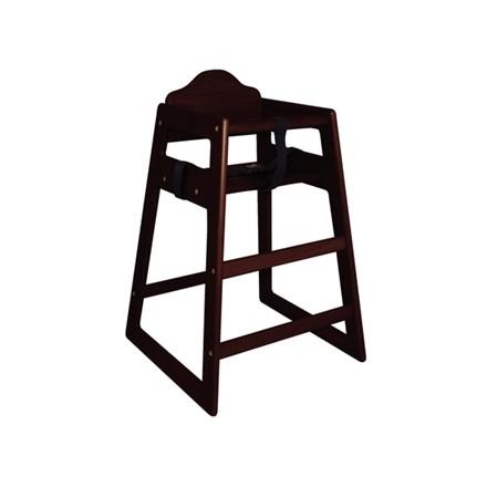 Bolera DL901 Dark Wood Wooden High Chairs Furniture