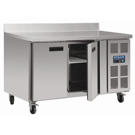 Polar DL916 Counter 2 Door Freezer with Upstand 282 Ltr