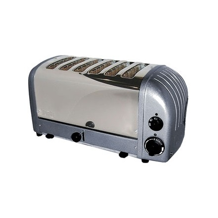 Dualit E269 6 Slot Bread Toaster Metallic charcoal finish 6 slot