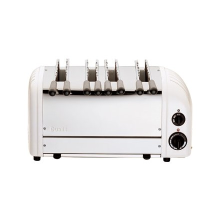 Dualit E977 4 Slot Dualit Sandwich Toaster Colour Standard white