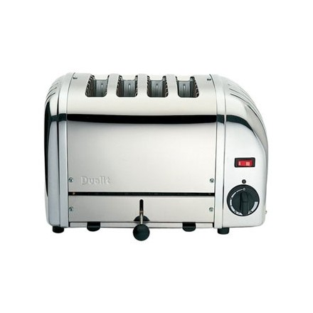 Dualit F209 Bread Toaster 4 Slice Stainless 40352