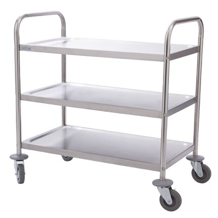 Vogue F993 3 Tier Clearing Trolley Small