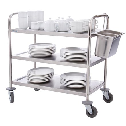 Vogue F994 3 Tier Clearing Trolley Medium