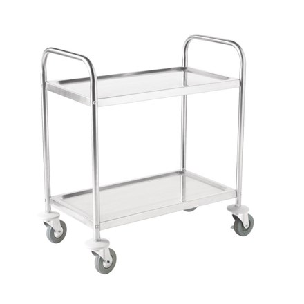 Vogue F997 2 Tier Clearing Trolley Medium