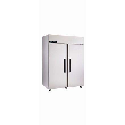 XR1300H Double Door Stainless Steel Upright Fridge