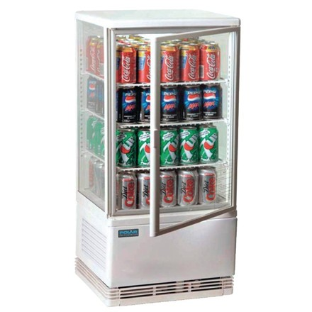 Polar G619 Chilled Display Cabinet White