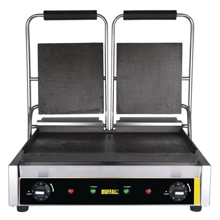 Buffalo GJ456 Bistro Contact Grill Double
