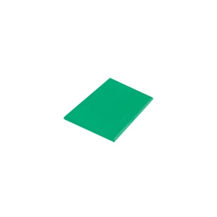 "Hygiplas J037 18"" x 12"" x 1"" 460 x 305 x 25mm Green High Density Colour Coded Ch"