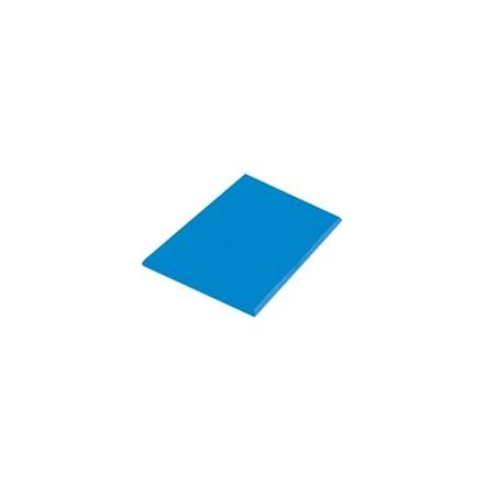 "Hygiplas J042 24"" x 18"" x 1"" 610 x 460 x 25mm Blue High Density Colour Coded Cho"